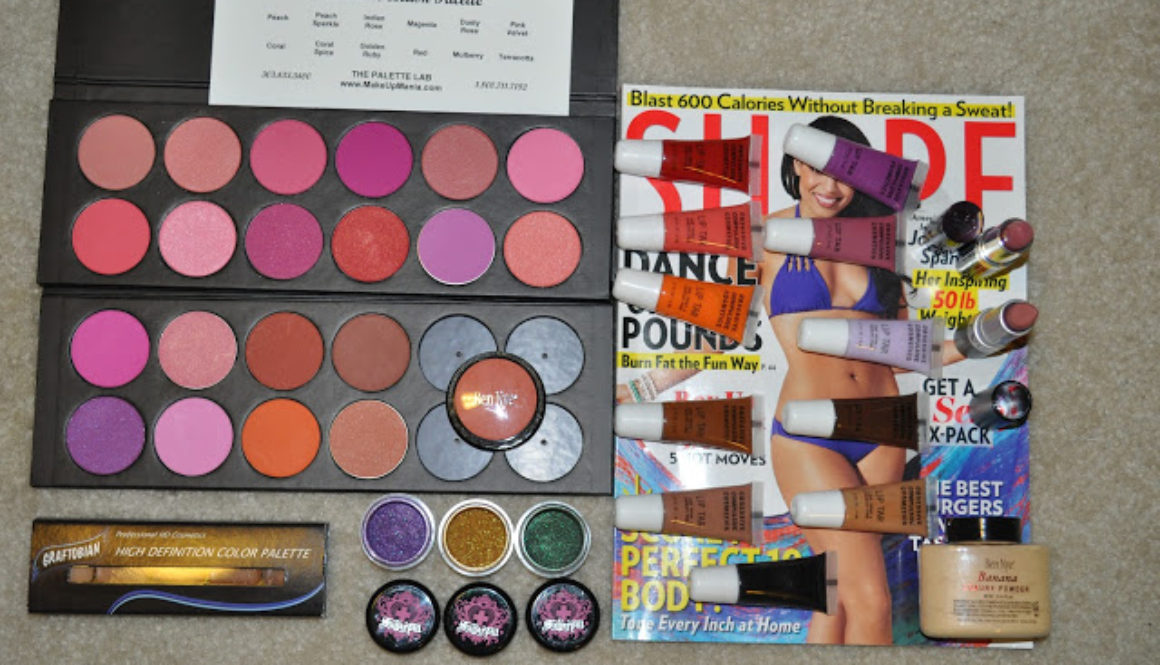 JULY HAUL: suite7beauty.com, makeupmania.com & wal-mart