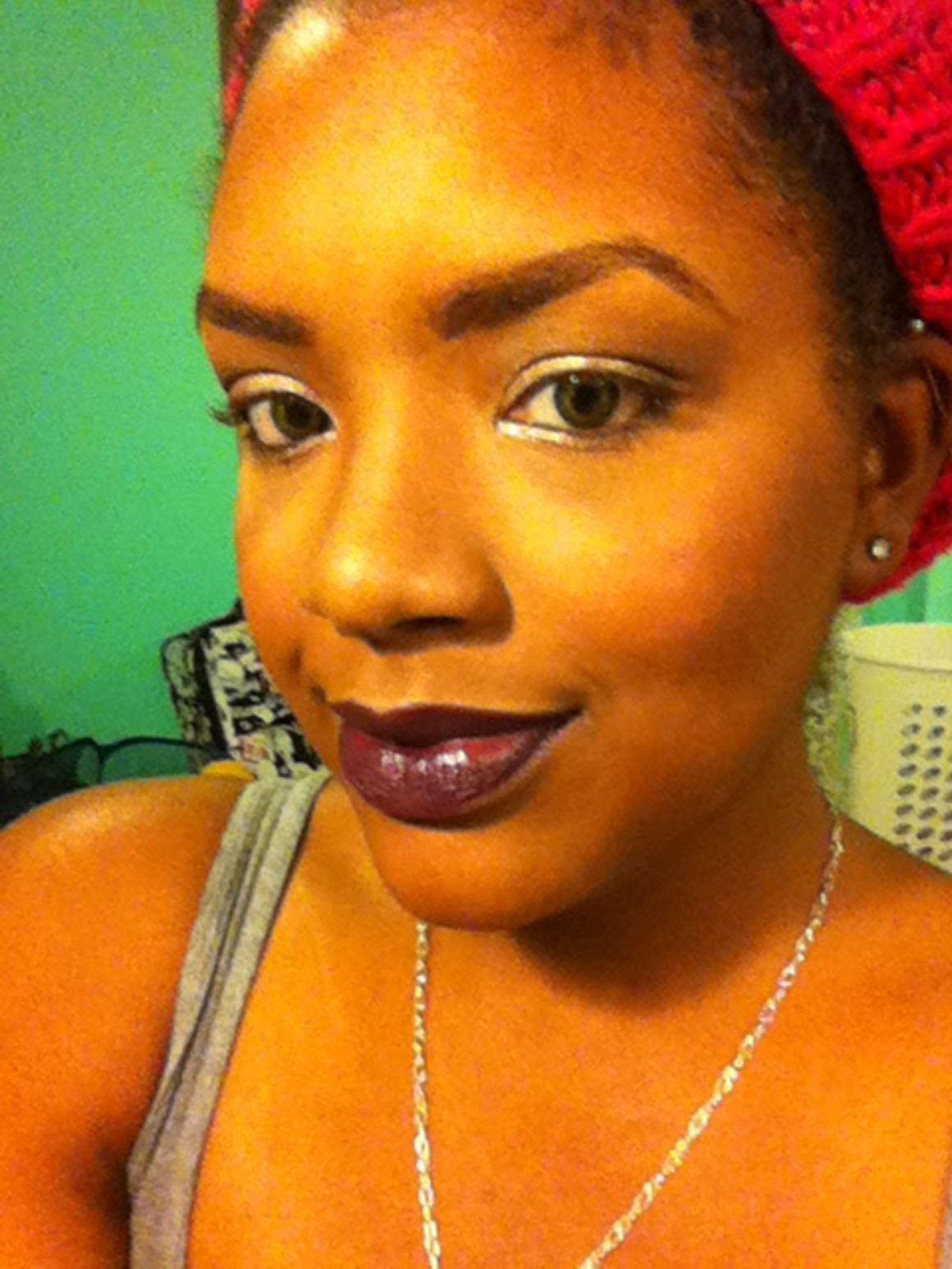 FOTD: Black Cherry Lips