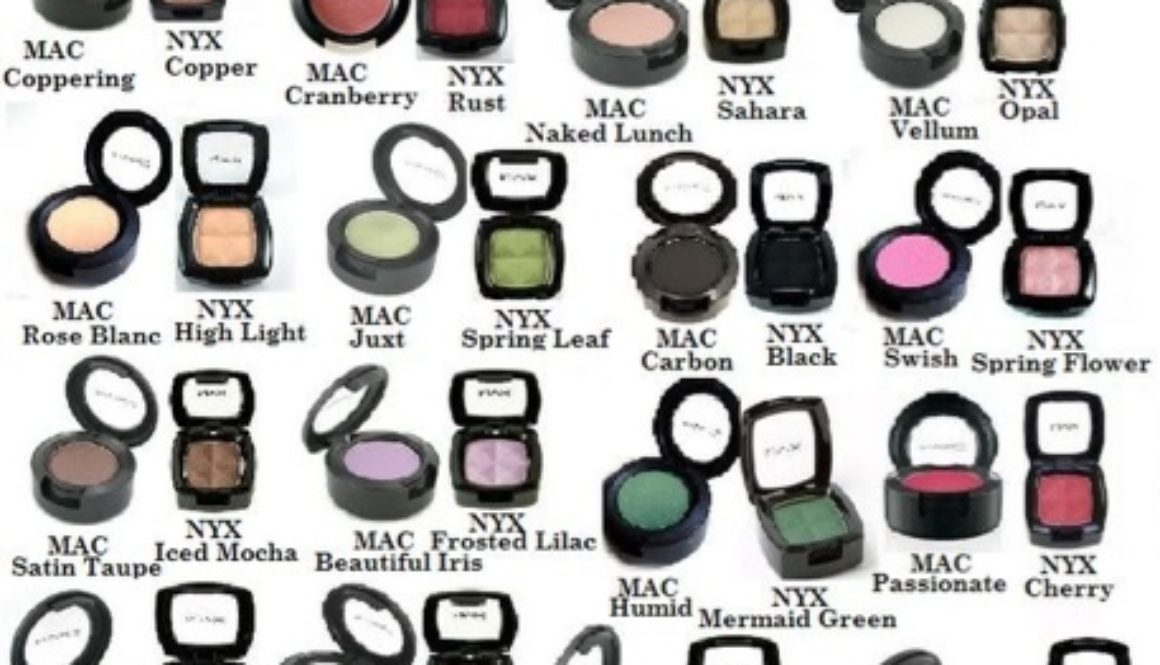 Found: #NYX #MAC eyeshadow dupes