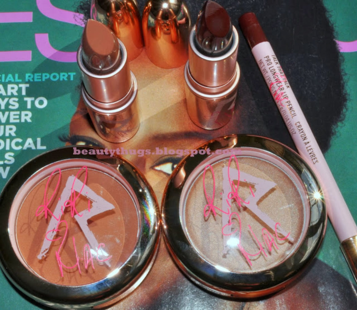 SHINE BRIGHT: Rihanna ♥ MAC Collection Haul & Swatches