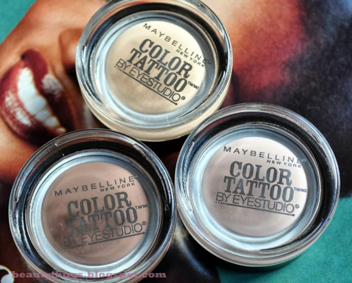 Gilded in Gold: Limited Edition Maybelline Color Tattoos Fall 2013