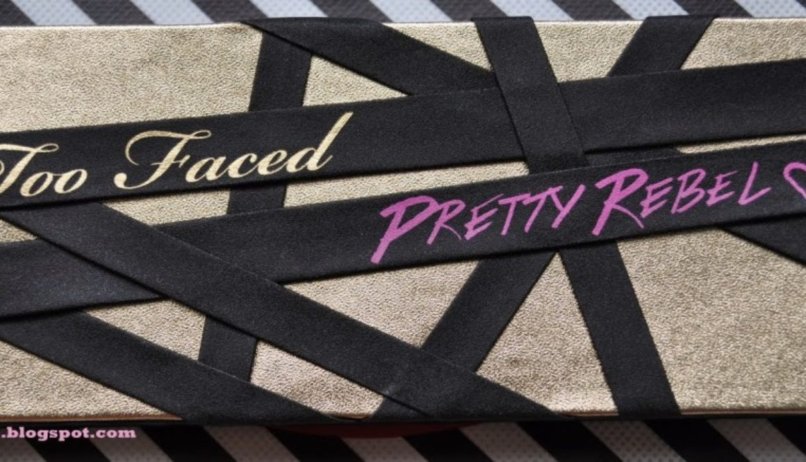 Such a Pretty Rebel: Too Faced Pretty Rebel Palette Swatches and Review