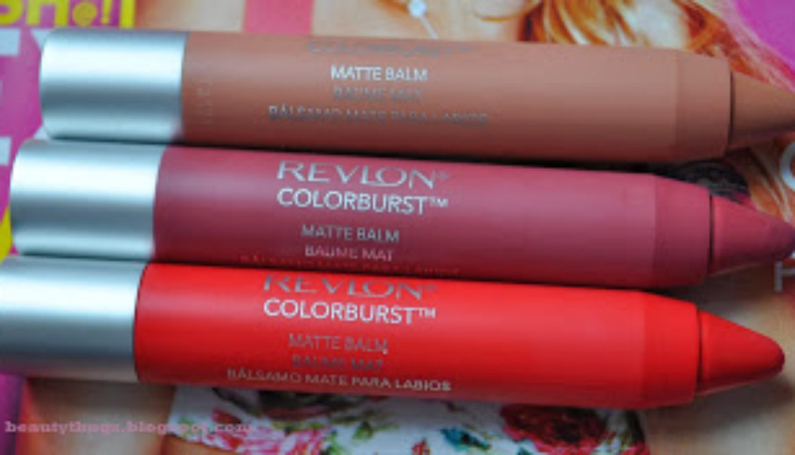Coy, Sultry & Striking: Revlon Color Burst Matte Balms