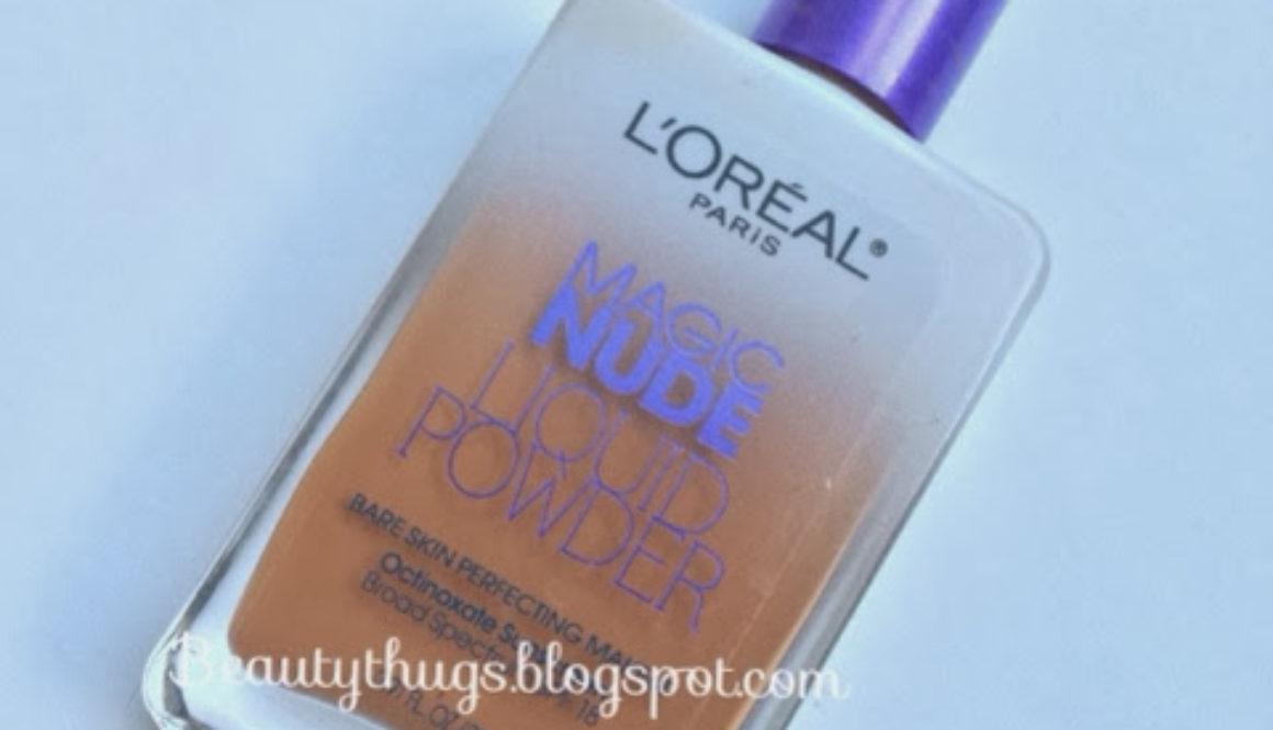 Making Magic: L'oreal Magic Nude Liquid Powder