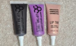 TMS Haul: OCC Lip Tars in Black Dahlia, Rollergirl and Hollywood