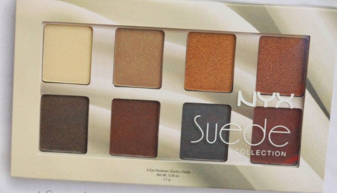 Precious Jewels: @NYXCosmetica Suede Palette
