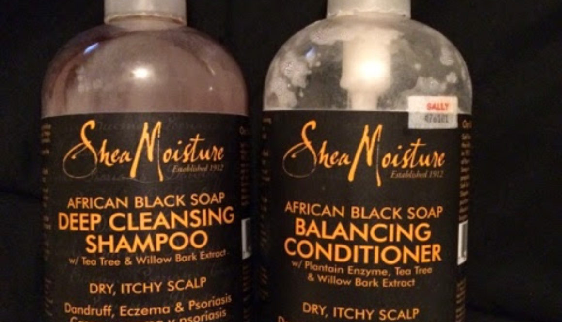 Hair Holy Grail: Shea Moisture African Black Soap Shampoo & Conditioner