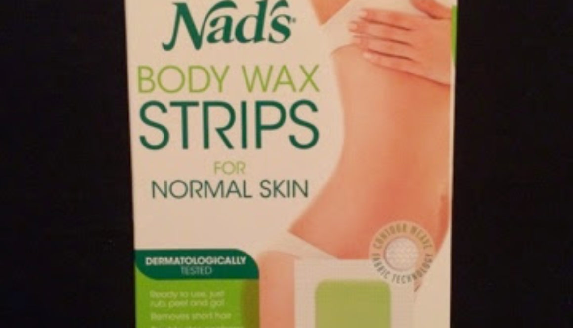 Review: Nads Body Wax Strips for Normal Skin
