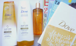 Giveaway: Dove Pure Care Dry Oil Collection