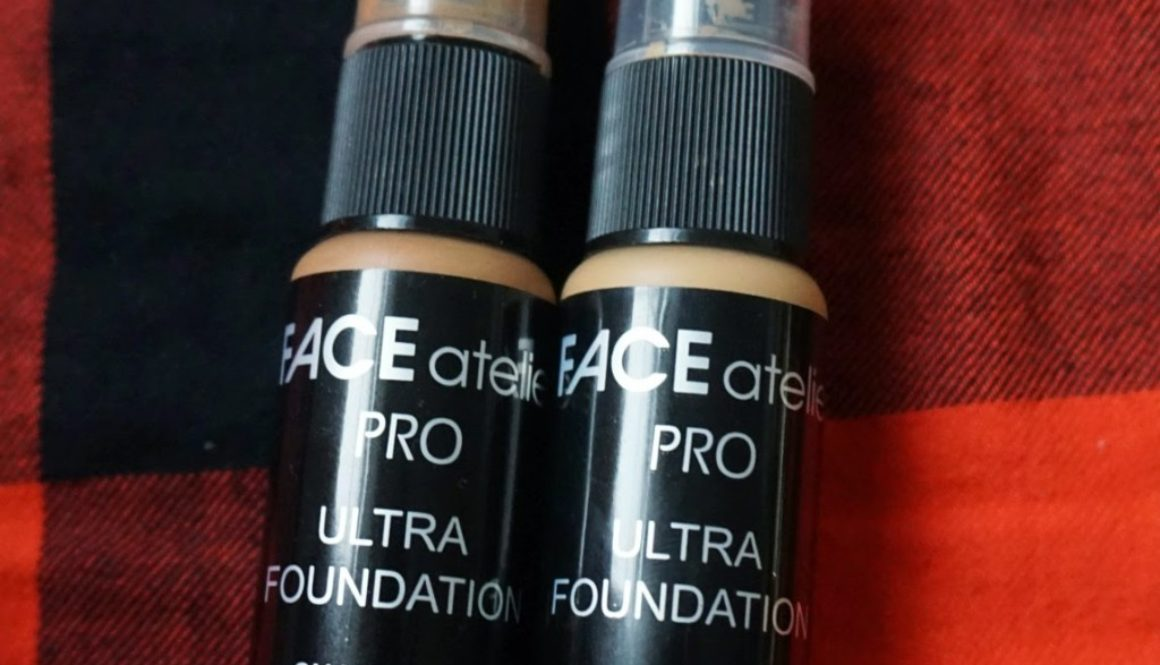 Review: FACE Atelier PRO Ultra Foundation