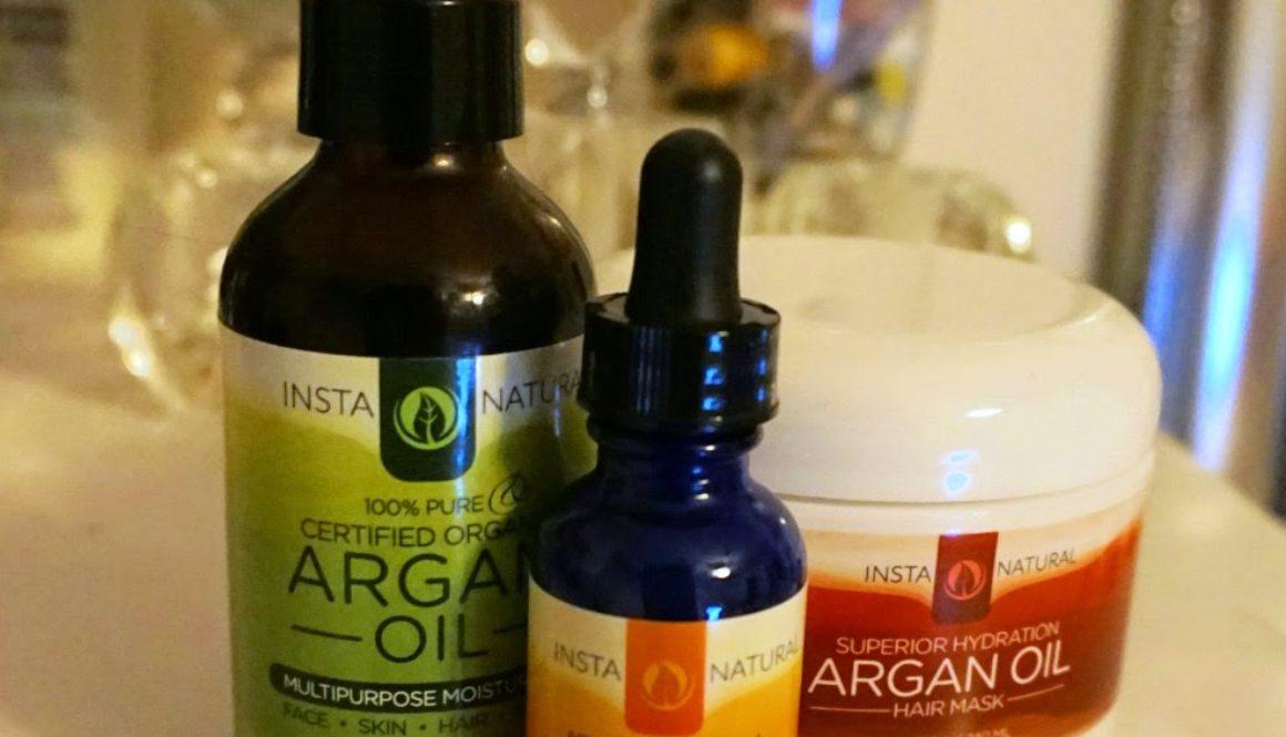Argan Oil Hair Mask, Argan Oil & Vitamin C Serum