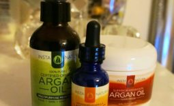 Argan Oil Hair Mask, Argan Oil & Vitamin C Serum