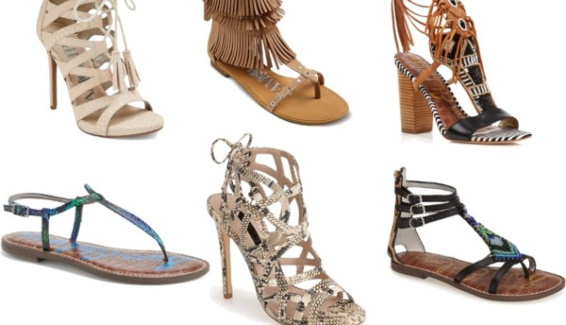 Lust List: Summer 2015 Sandal Round Up
