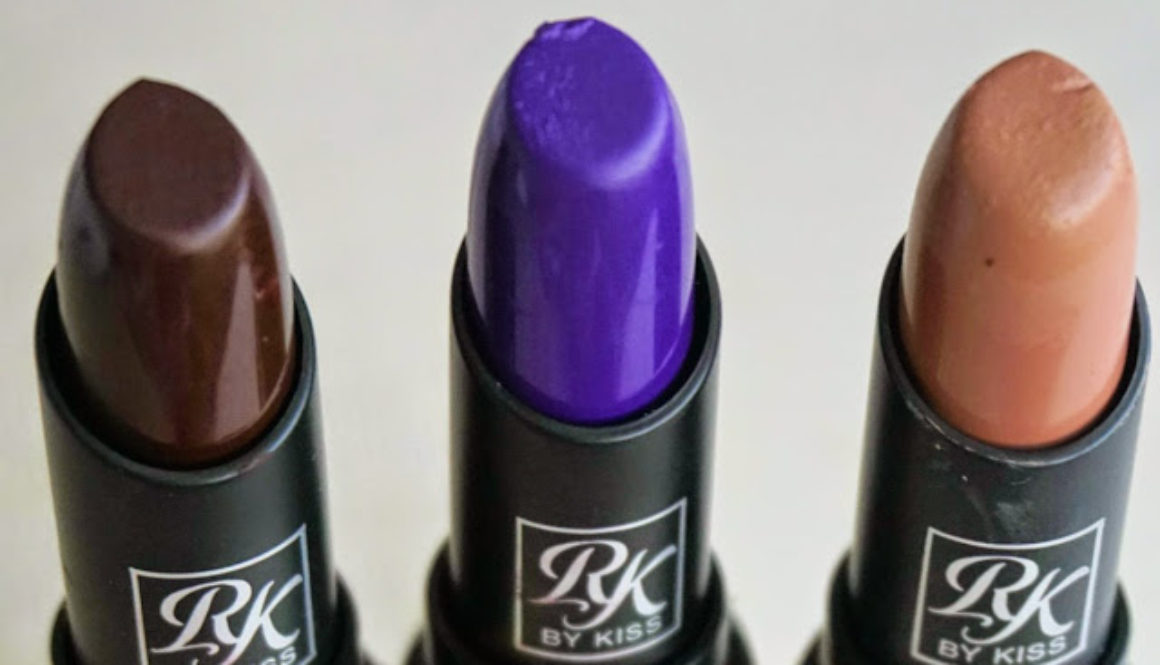 Hidden Gems: Ruby Kisses Matte Lipsticks in Brown Sugar, PurpleAffair, & Dark Plum Scene