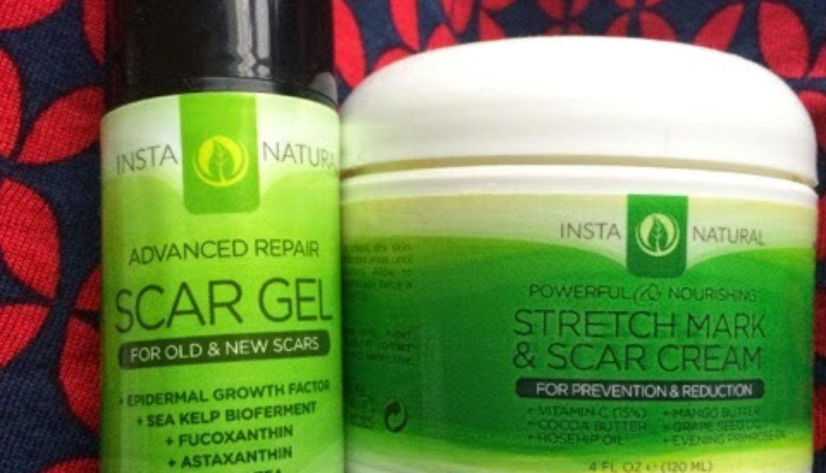A Flawless Body?: Instanaturals Advanced Scar Repair Gel and StretchMark & Scar Cream Review