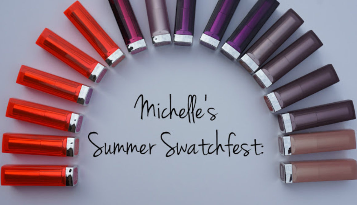 Summer Swatchfest: Maybelline Color Sensational Lipsticks [Swatched on Brown Skin]