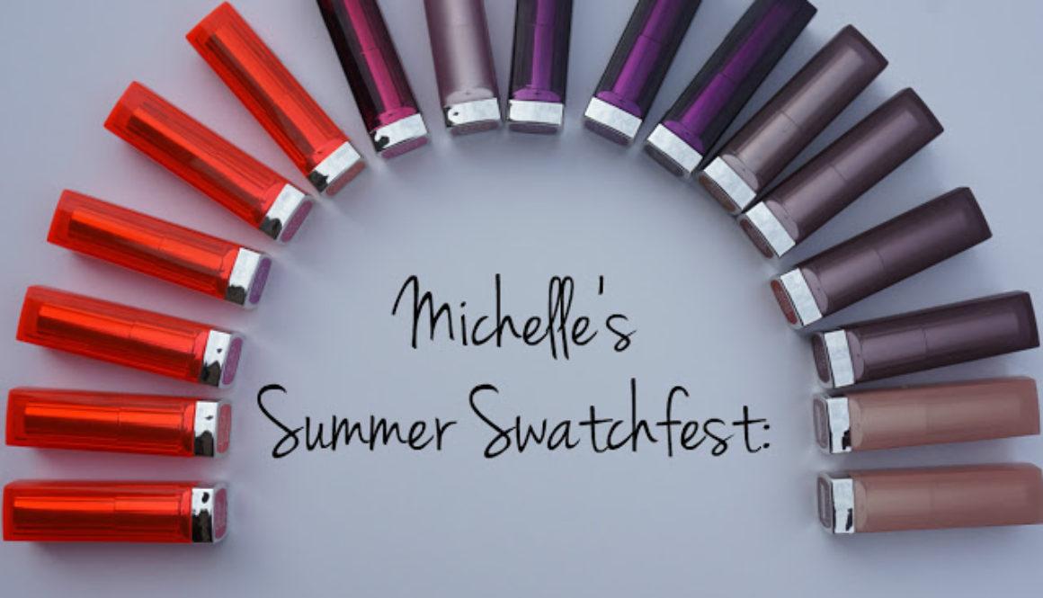 Summer Swatchfest: Maybelline Color Sensational Lipsticks [Swatched on Brown Skin]