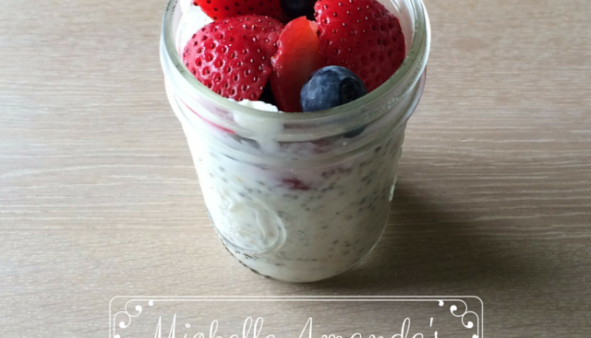 #MichelleAmandaGetsFit: Overnight Oats Recipe