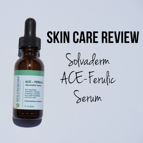 Review: Solvaderm Skincare ACE-Ferulic Serum