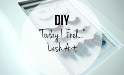 """Quick DIY: """"Today I Feel…"""" Lash Art"""