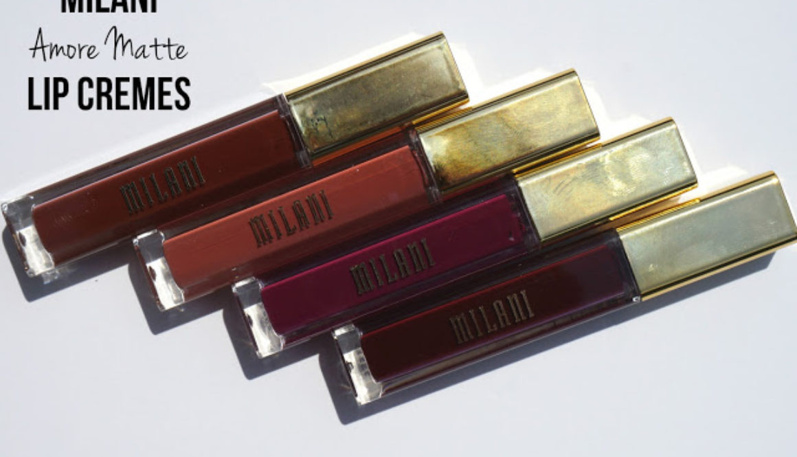 Summer Swatchfest: Milani Amore Matte Lip Cremes in Crush, Beloved, Embrace, & Flirt [Swatched on Brown Skin]