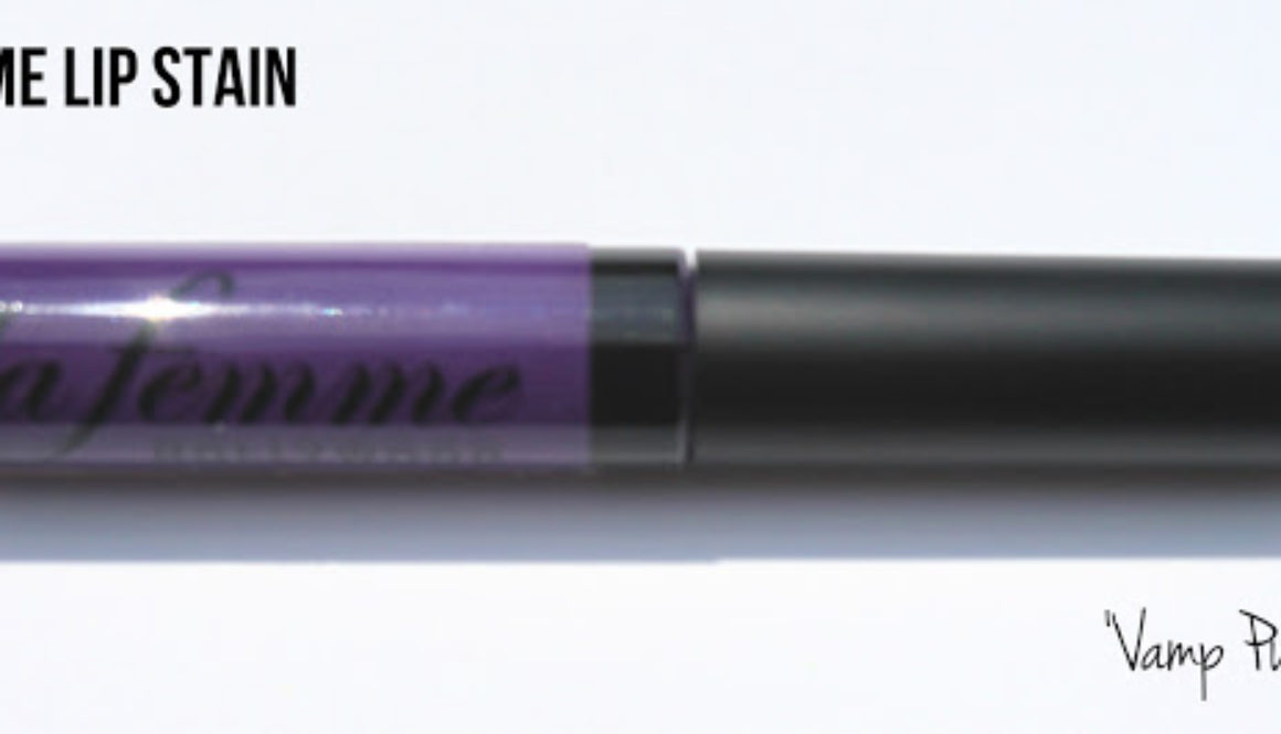 Quick Review: La Femme Lip Stain in Vamp Purple