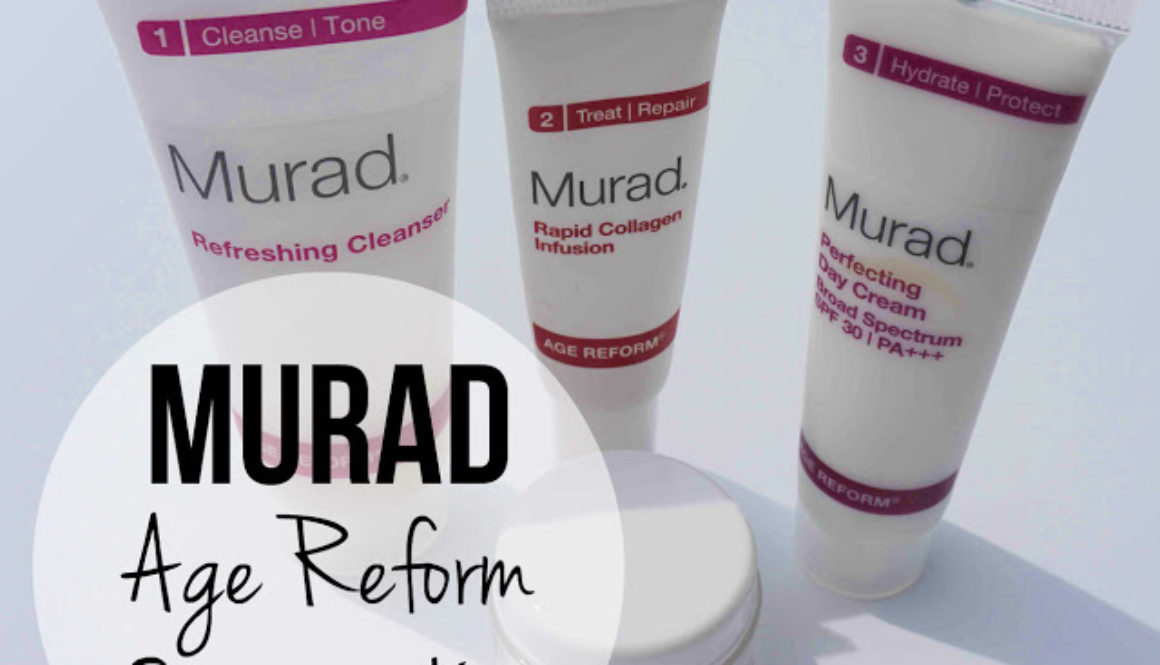 Good Skin Day: Murad Age Reform Starter Kit Review
