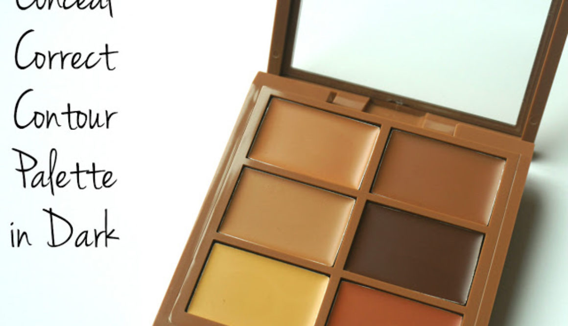 Review: NYX Conceal Correct Contour Palette in Dark