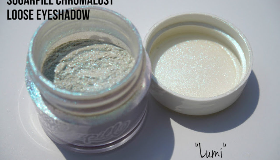 Summer Swatchfest: Sugarpill Chromalust Loose Eyeshadow in Lumi