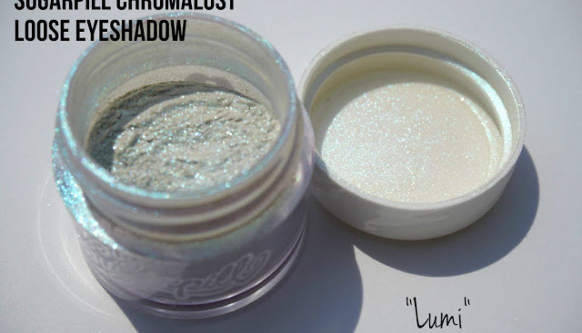 Summer Swatchfest: Sugarpill Chromalust Loose Eyeshadow in Lumi