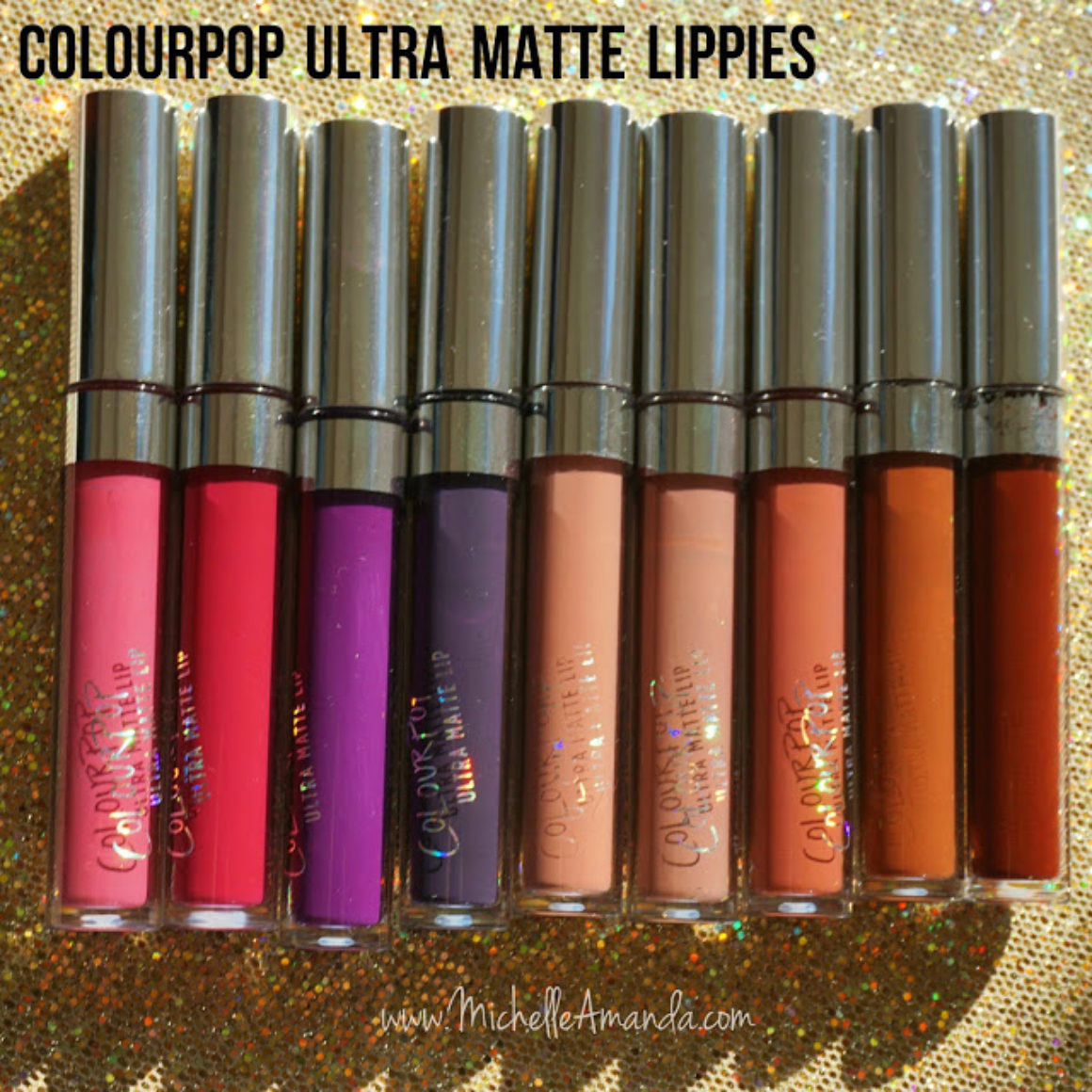 Swatched: ColourPop Ultra Matte Liquid Lipsticks on Brown Skin