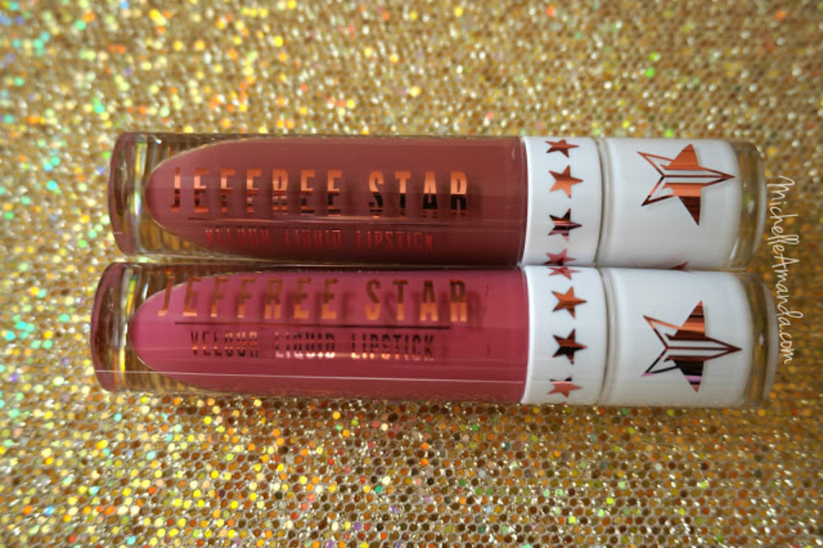 Swatched: Jeffree Star LE Holiday 2015 Liquid Lipsticks in Androgyny & Doll Parts