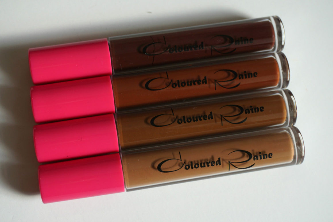 Friday Quickie: Coloured Raine Liquid Matte Lipsticks