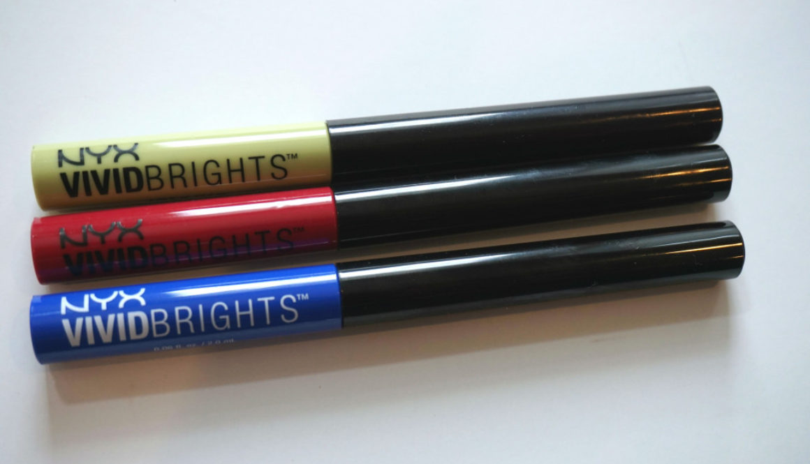 Saturday Swatchday: NYX Vivid Brights Liners