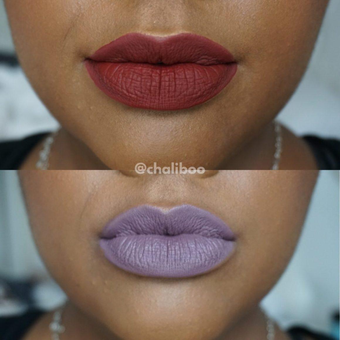 Swatched: Jeffree Star Velour Liquid Lipsticks in Scorpio & Unicorn Blood