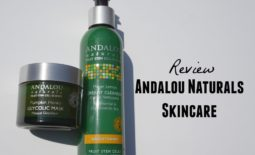 Get Brighter Skin Naturally with Andalou Naturals Meyer Lemon Cleanser & Pumpkin Honey Glycolic Mask