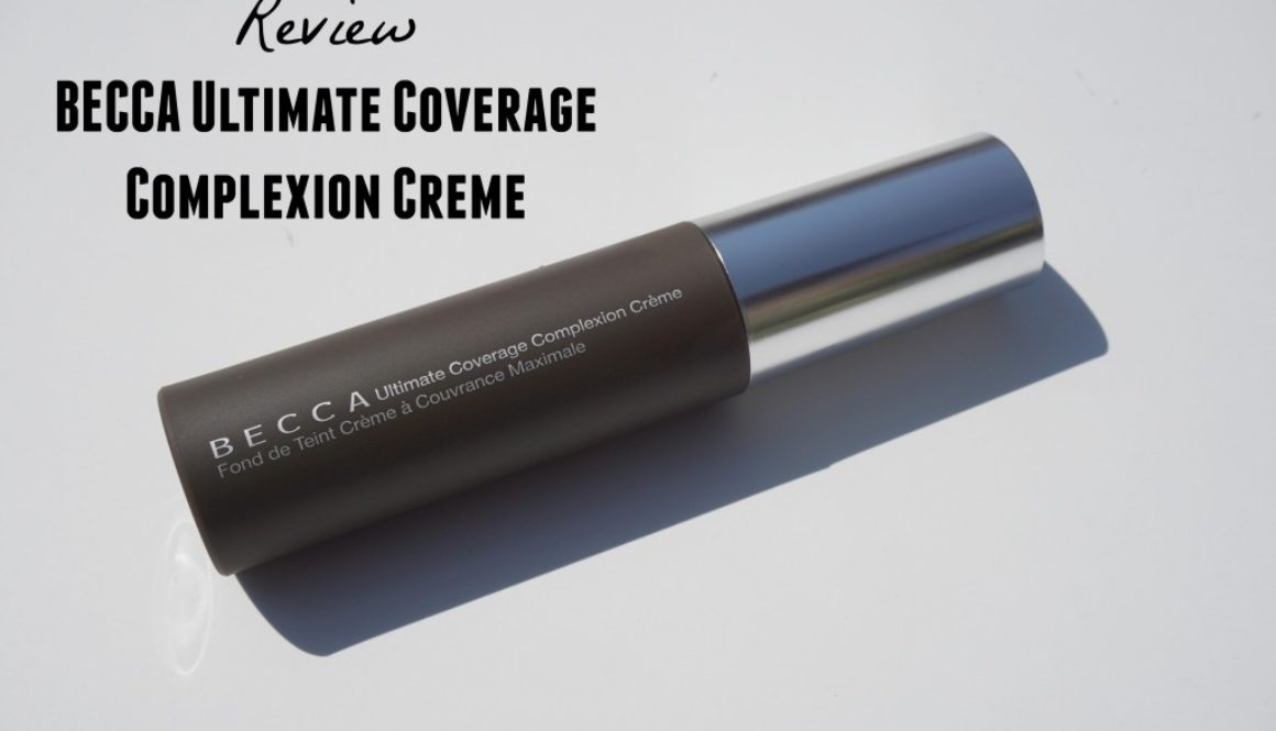 Review: BECCA Ultimate Coverage Complexion Creme in Tobacco