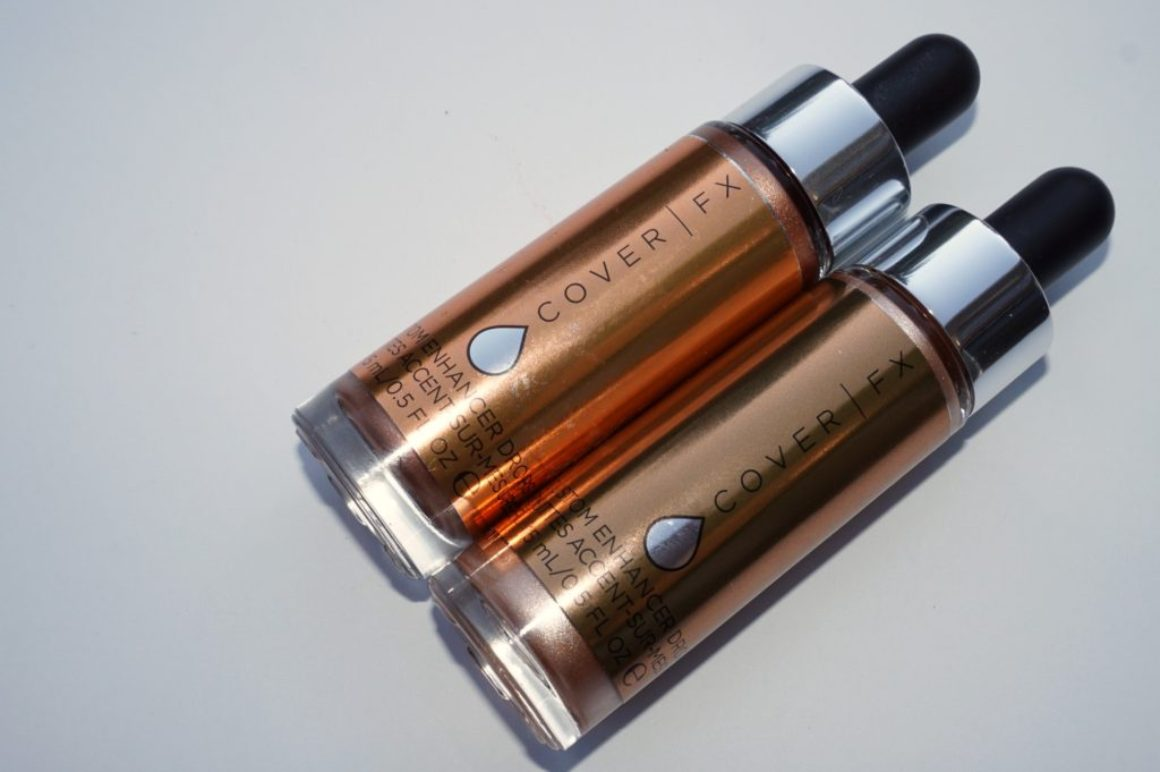 Review: Cover FX Custom Enhancer Drops in Candlelight and Sunlight
