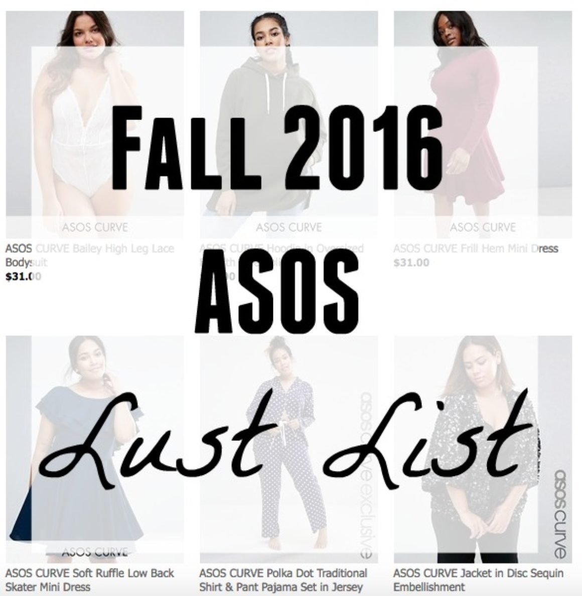 Lust List: ASOS Fall 2016