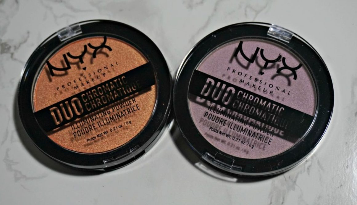 Swatched: NYX Duochromatic Illuminating Powder