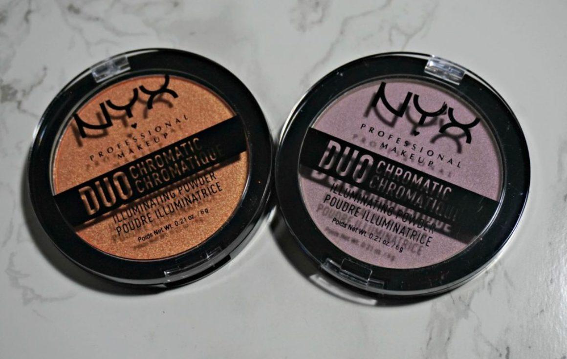 Swatched: NYX Duochromatic Illuminating Powder
