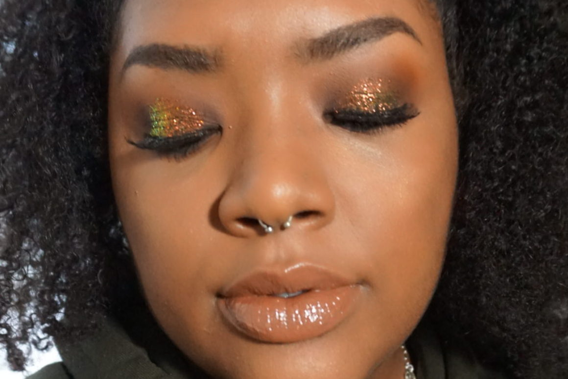 Swatched: OCC Makeup Glitters Scarab, Beige & Lemarchand