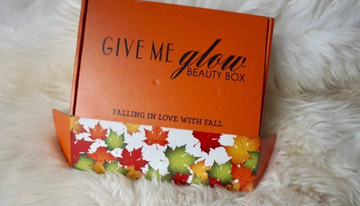 Revealed: Give Me Glow September Beauty Box
