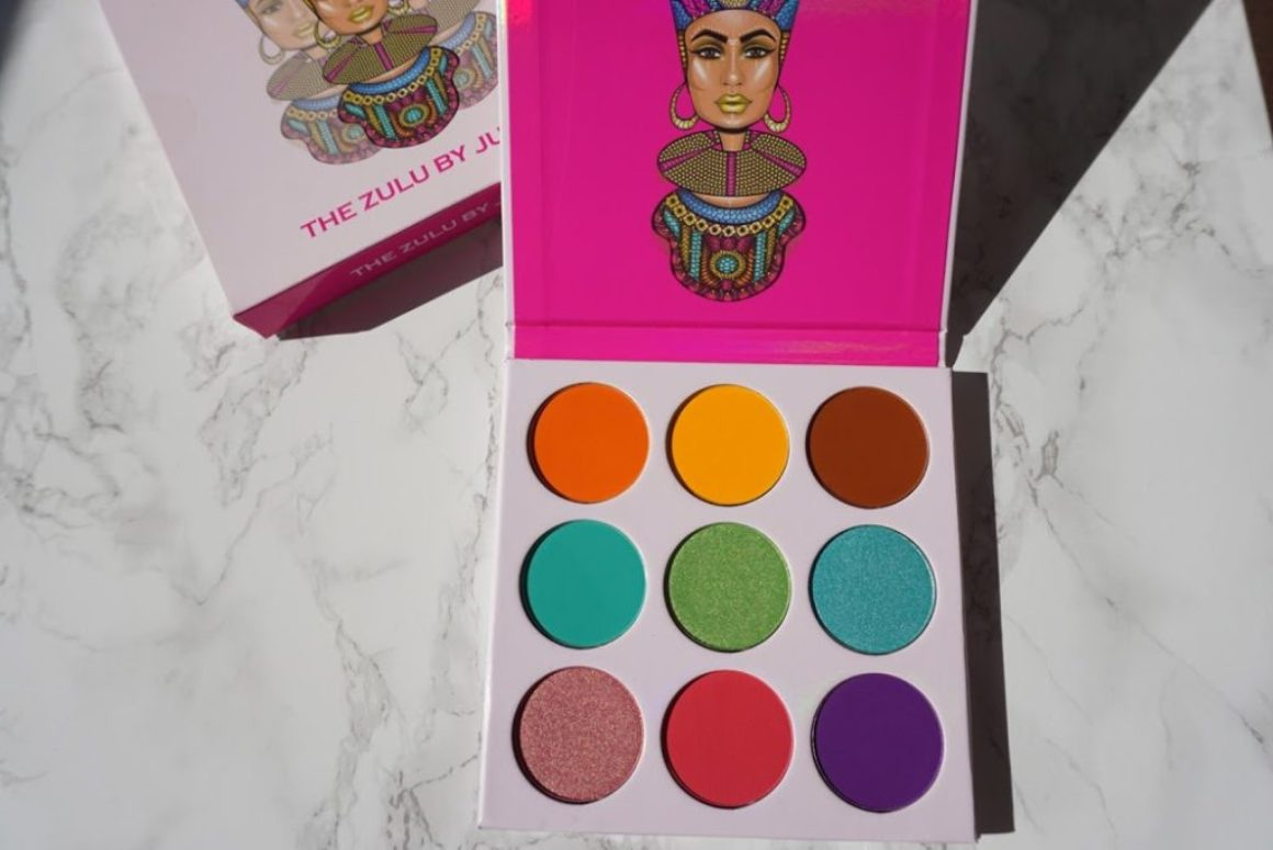 Swatched: The Zulu Palette by Juvia's Place